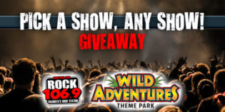 "The Wild Adventures ""Pick a Show"" Giveaway"