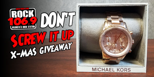 The Don't Screw It Up Xmas Giveaway